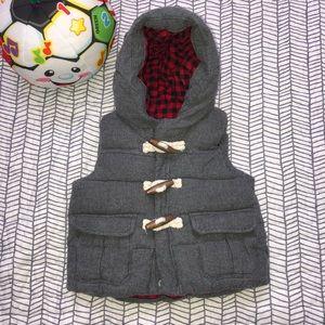 Baby Gap Padded/ Toggle Vest